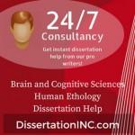 Brain and Cognitive Sciences Human Ethology Dissertation Help