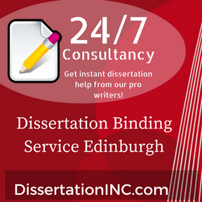 Dissertation binding services edinburgh