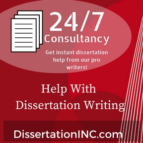 Help in dissertation writing