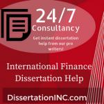 Finance dissertation help