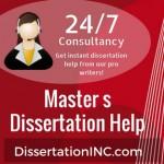 Master's Dissertation Help