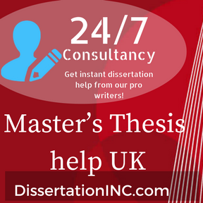 master thesis writing service