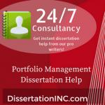 Portfolio Management Dissertation Help
