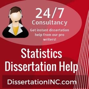 Statistics dissertation help
