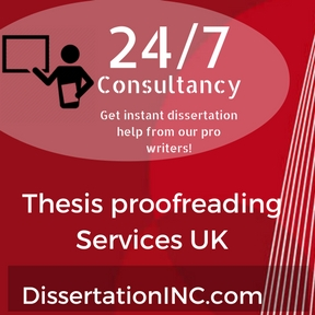 thesis proofreading rates uk