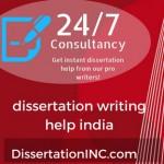 dissertation writing help india